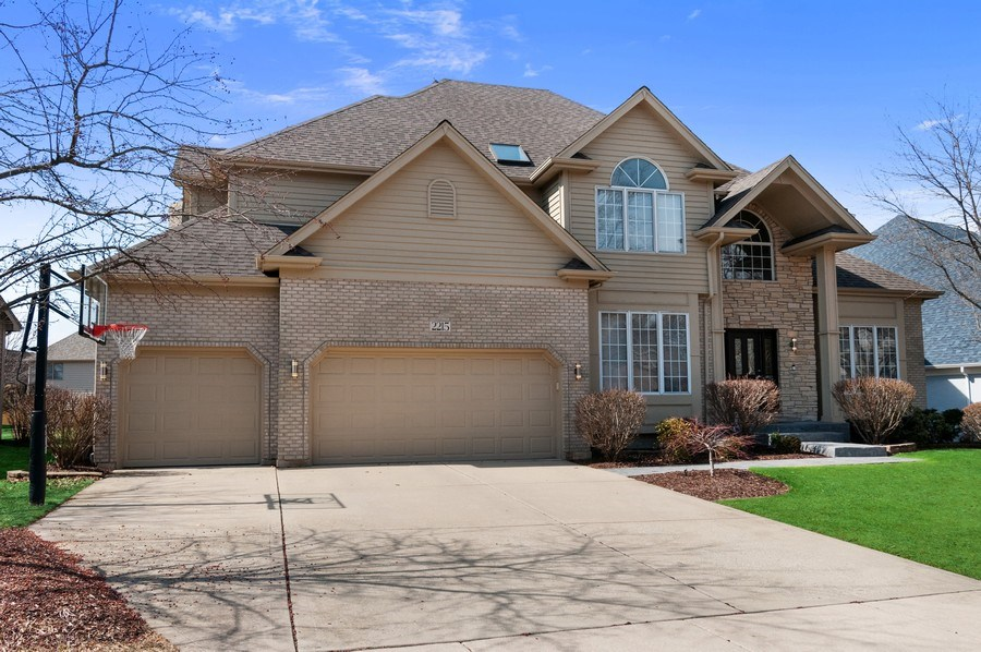 Real Estate Photography - 2215 Comstock Lane, Naperville, IL, 60564 - Front View