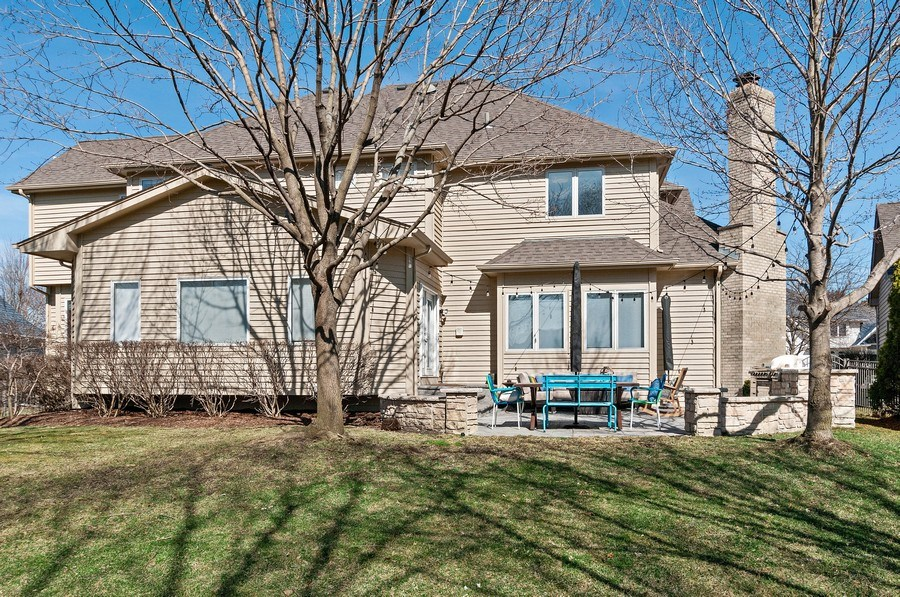 Real Estate Photography - 2215 Comstock Lane, Naperville, IL, 60564 - Rear View