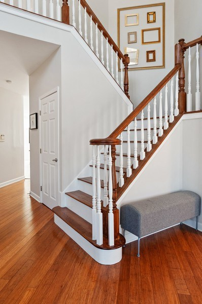 Real Estate Photography - 2215 Comstock Lane, Naperville, IL, 60564 - Staircase