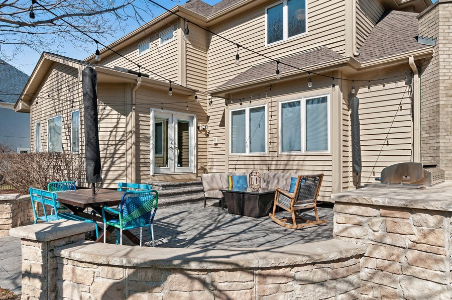 Real Estate Photography - 2215 Comstock Lane, Naperville, IL, 60564 - Patio