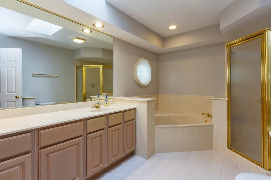 Real Estate Photography - 460 Park Barrington Drive, Barrington, IL, 60010 - Master Bathroom