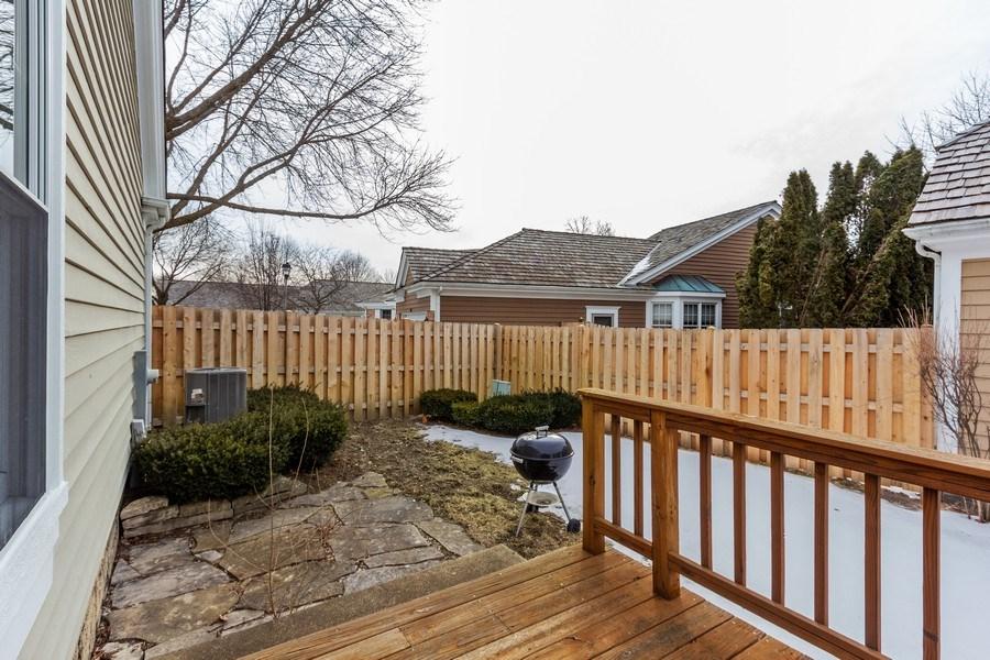Real Estate Photography - 460 Park Barrington Drive, Barrington, IL, 60010 - Rear View