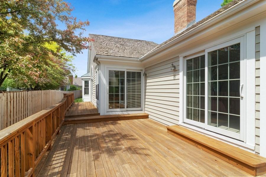 Real Estate Photography - 460 Park Barrington Drive, Barrington, IL, 60010 - Deck