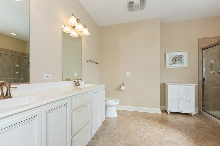 Real Estate Photography - 2623 Foxglove Street, Naperville, IL, 60564 - Master Bathroom