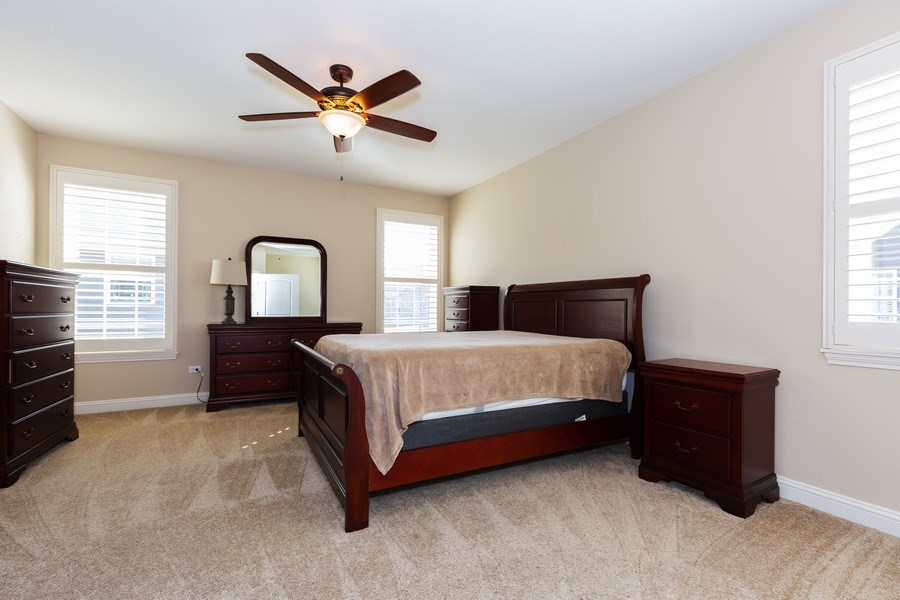 Real Estate Photography - 2623 Foxglove Street, Naperville, IL, 60564 - Master Bedroom