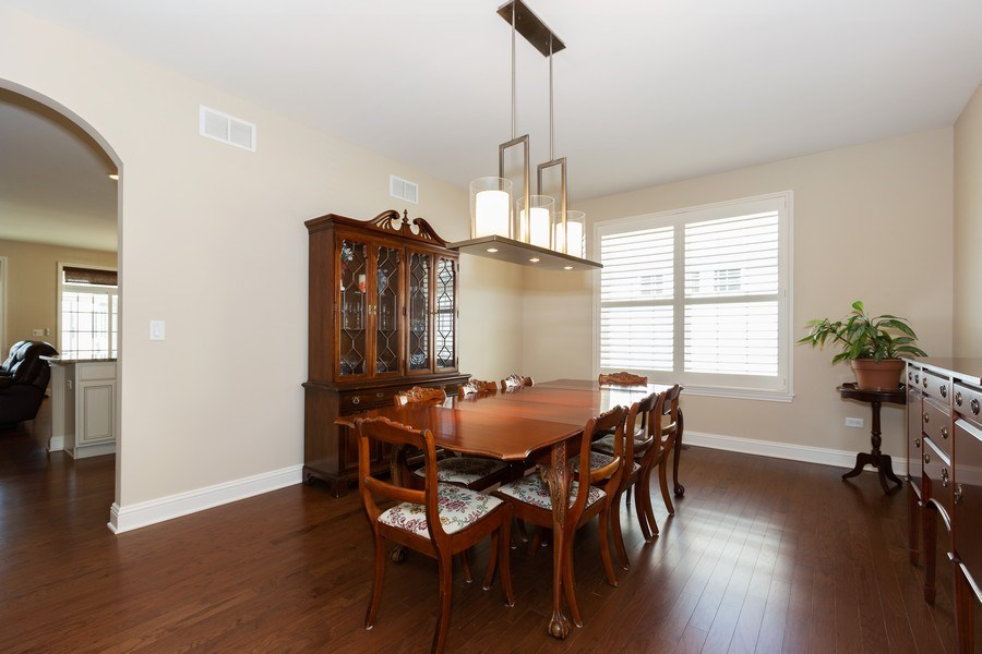 Real Estate Photography - 2623 Foxglove Street, Naperville, IL, 60564 - Dining Room