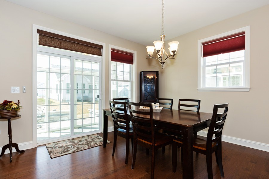Real Estate Photography - 2623 Foxglove Street, Naperville, IL, 60564 - Breakfast Area