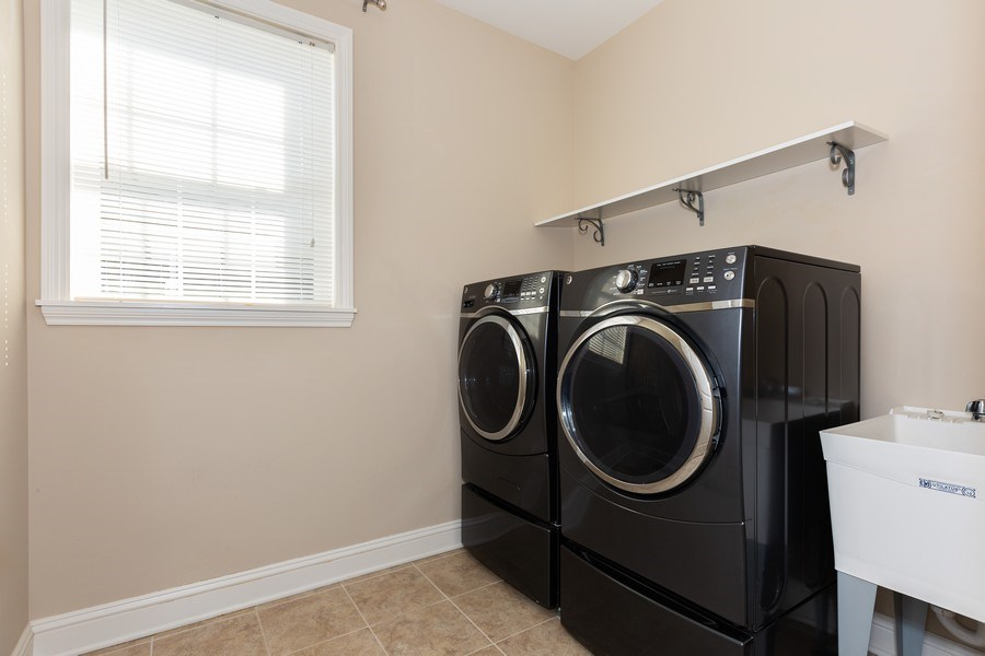 Real Estate Photography - 2623 Foxglove Street, Naperville, IL, 60564 - Laundry Room