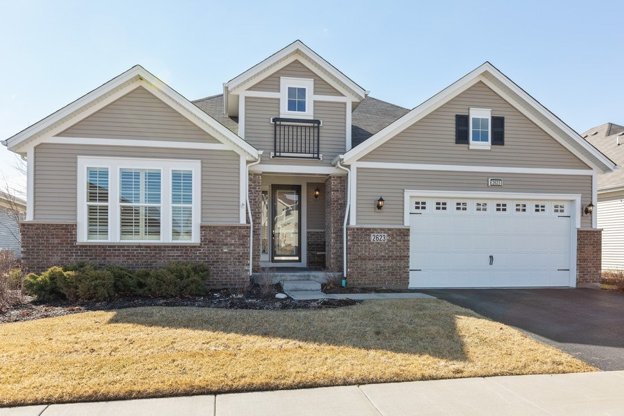 Real Estate Photography - 2623 Foxglove Street, Naperville, IL, 60564 - Front View