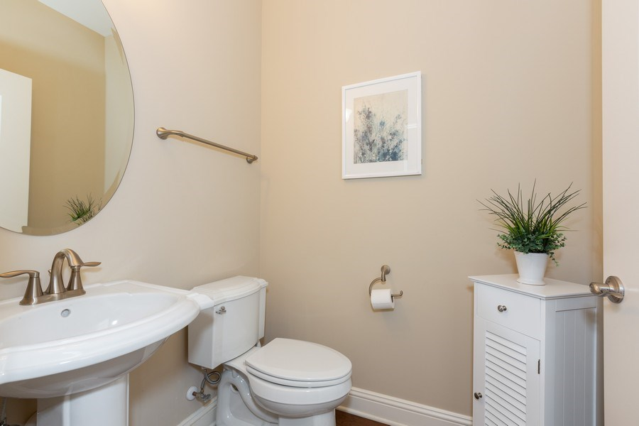 Real Estate Photography - 2623 Foxglove Street, Naperville, IL, 60564 - 2nd Bathroom