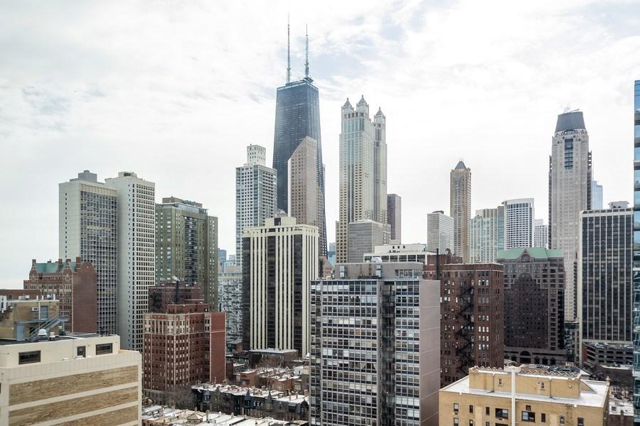 Real Estate Photography - 1 E. SCOTT, Unit 2005, Chicago, IL, 60610 - View