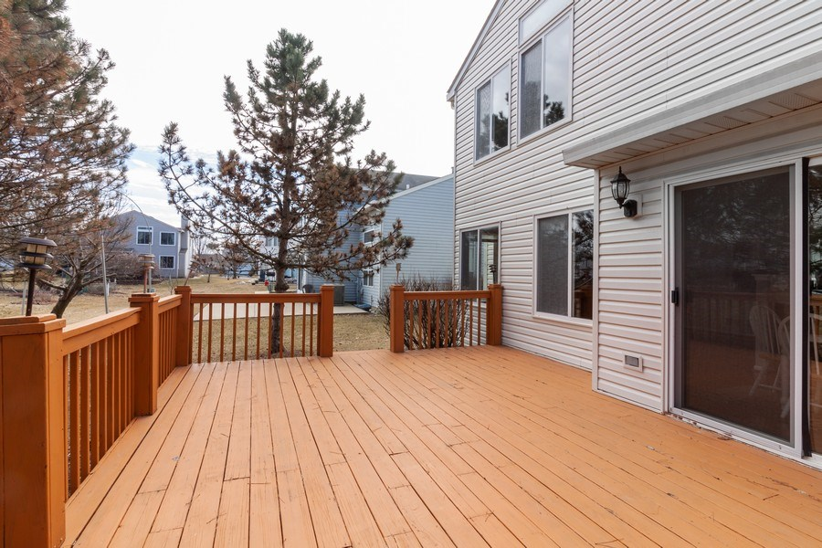Real Estate Photography - 146 Cider Street, Bolingbrook, IL, 60490 - Deck
