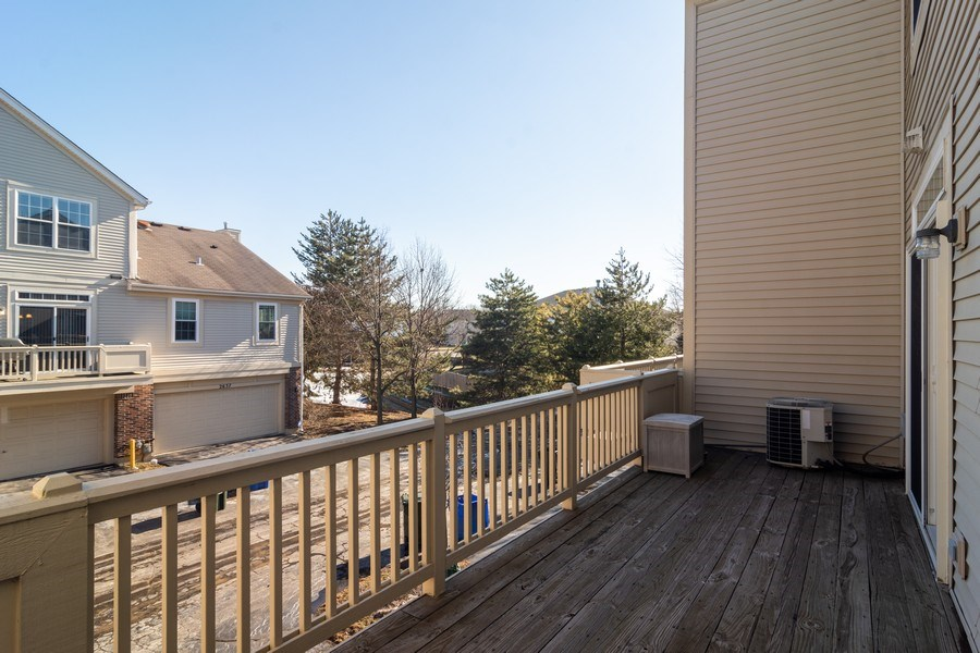 Real Estate Photography - 2631 N. Greenwood Avenue, Arlington Heights, IL, 60004 - Deck