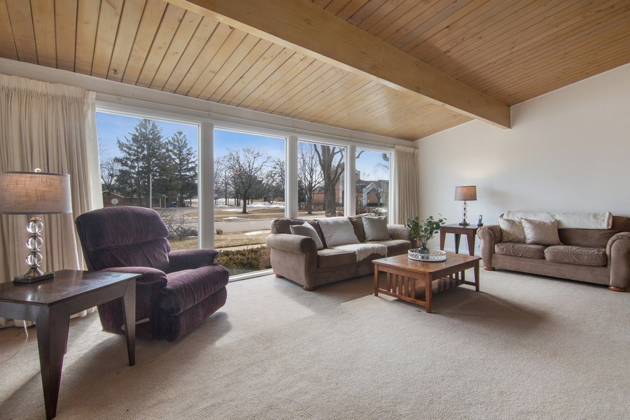Real Estate Photography - 2936 Harrison Street, Glenview, IL, 60025 - Living Room