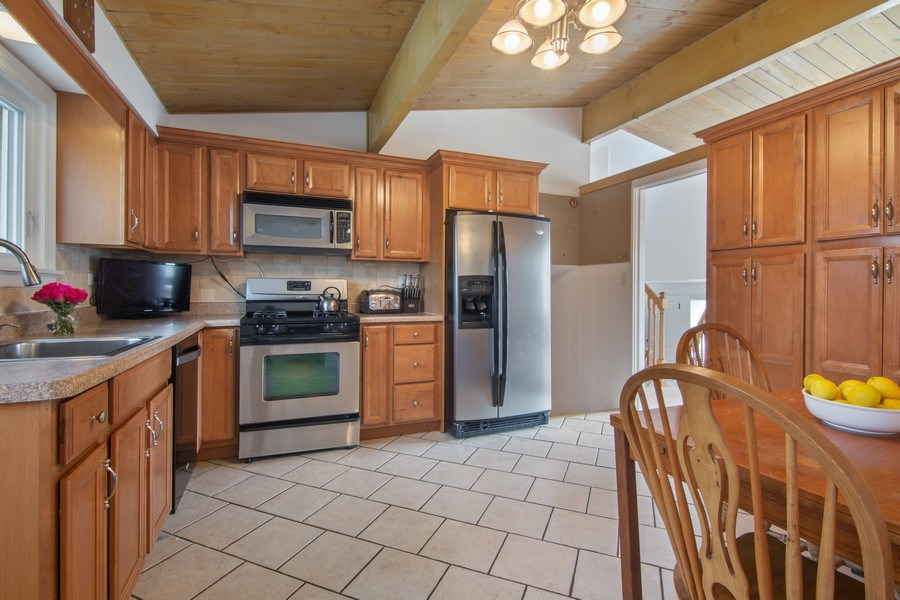 Real Estate Photography - 2936 Harrison Street, Glenview, IL, 60025 - Kitchen