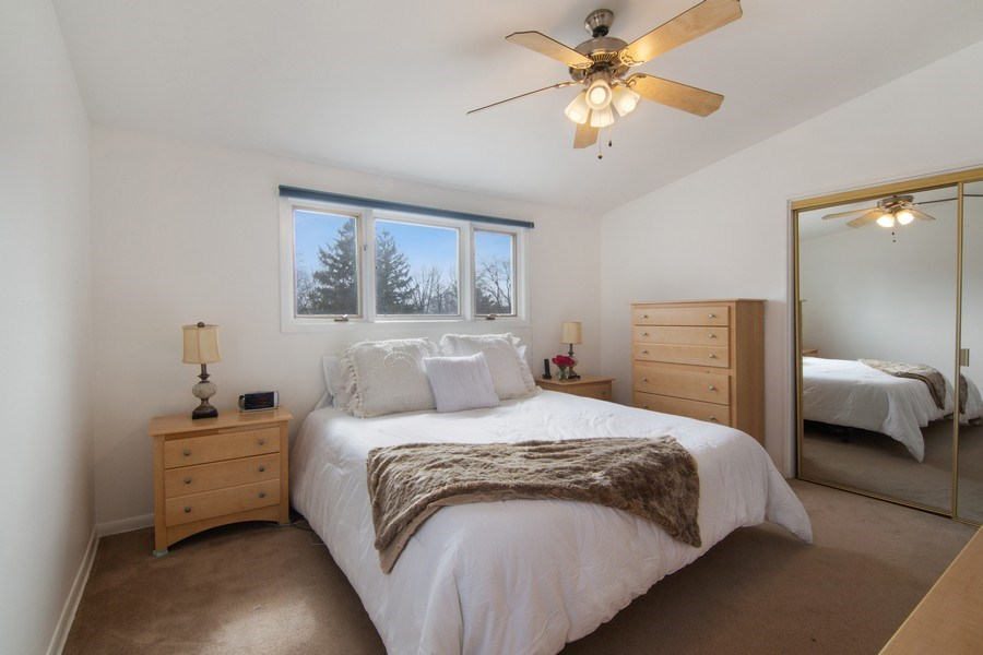 Real Estate Photography - 2936 Harrison Street, Glenview, IL, 60025 - Master Bedroom