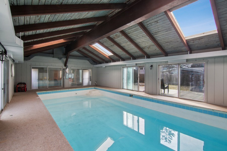 Real Estate Photography - 2936 Harrison Street, Glenview, IL, 60025 - Pool