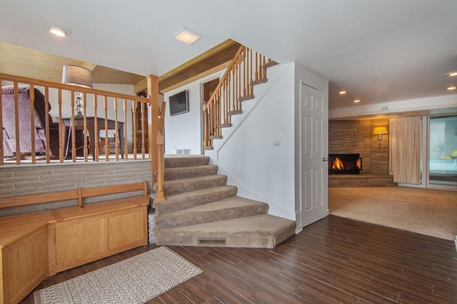 Real Estate Photography - 2936 Harrison Street, Glenview, IL, 60025 - Foyer