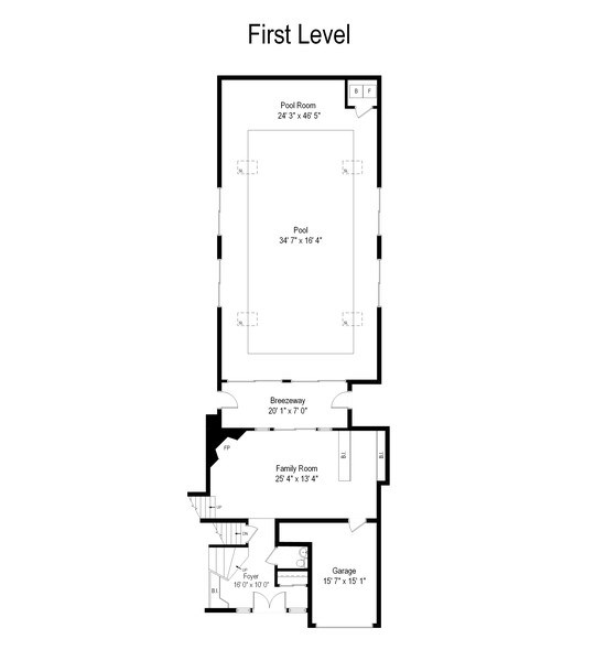 Real Estate Photography - 2936 Harrison Street, Glenview, IL, 60025 - Floor Plan