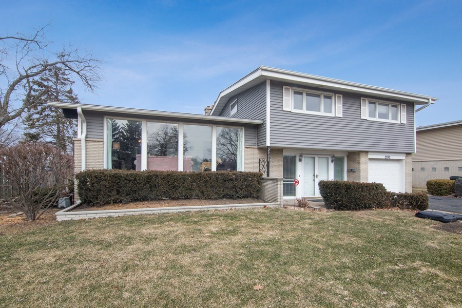 Real Estate Photography - 2936 Harrison Street, Glenview, IL, 60025 - Front View