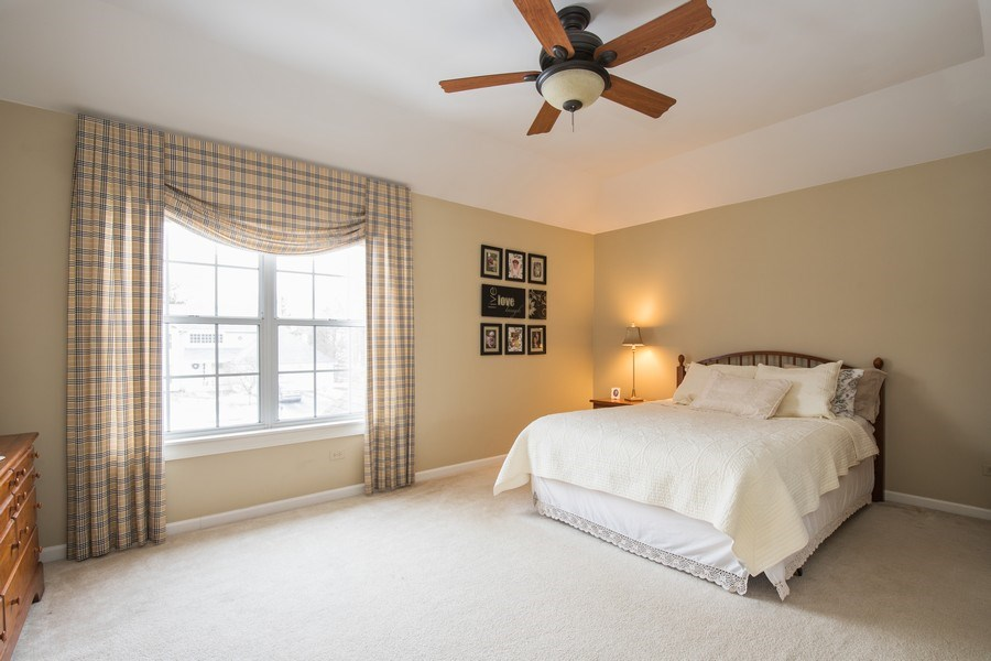 Real Estate Photography - 566 Meadowview Drive, Wauconda, IL, 60084 - Master Bedroom