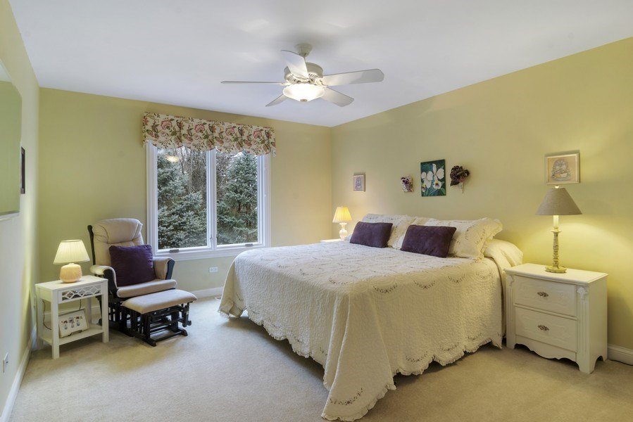 Real Estate Photography - 24 Kingsborough Cove, Inverness, IL, 60010 - 3rd Bedroom