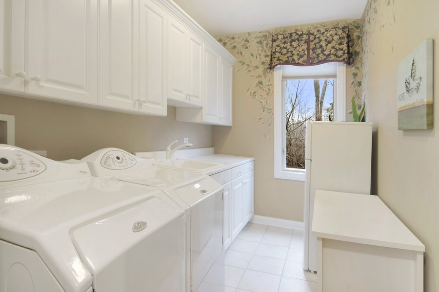 Real Estate Photography - 24 Kingsborough Cove, Inverness, IL, 60010 - Laundry Room