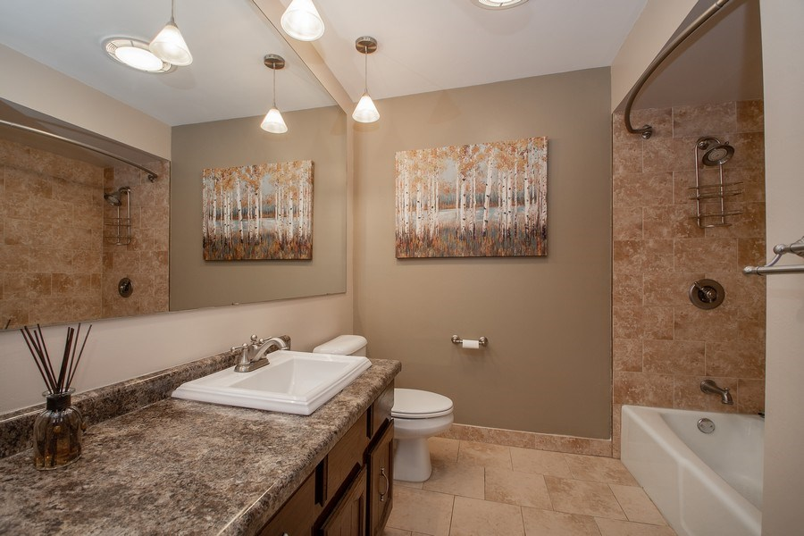Real Estate Photography - 3033 Alexander crescent, Flossmoor, IL, 60422 - Bathroom