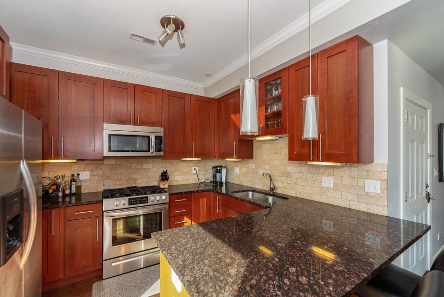 Real Estate Photography - 1353 N. NOBLE Street, Unit 2, Chicago, IL, 60642 - Kitchen