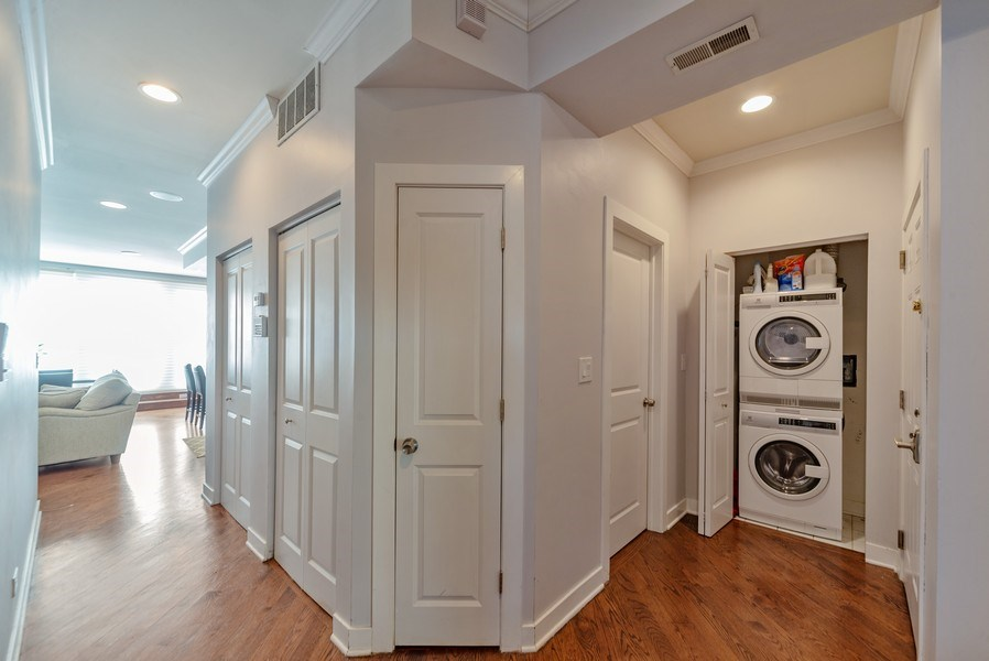Real Estate Photography - 1353 N. NOBLE Street, Unit 2, Chicago, IL, 60642 - Hallway