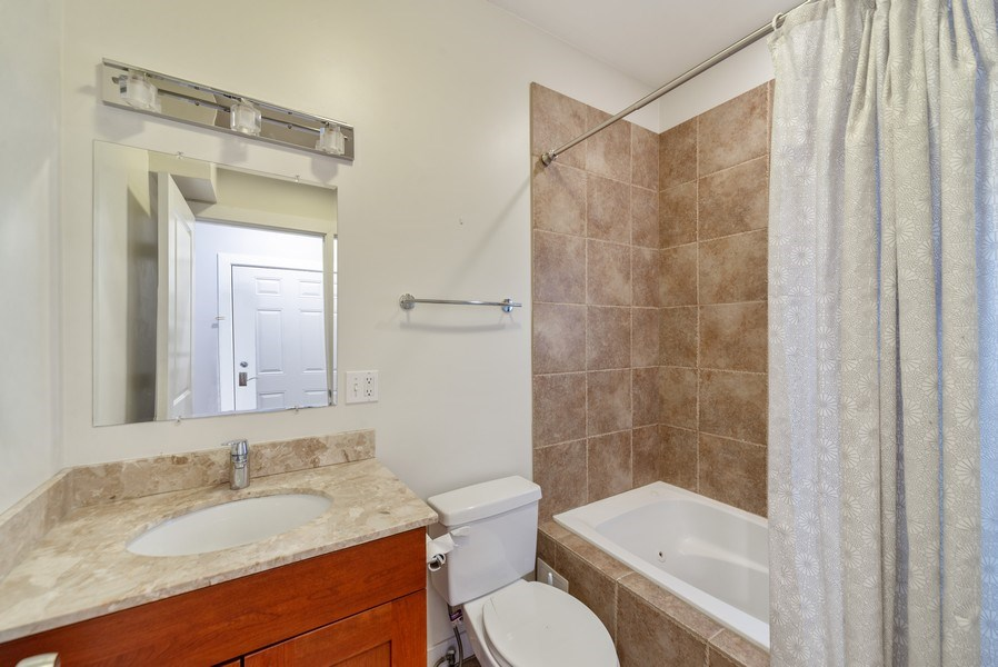 Real Estate Photography - 1353 N. NOBLE Street, Unit 2, Chicago, IL, 60642 - Bathroom