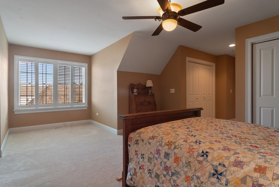 Real Estate Photography - 2707 Nicole Circle, Aurora, IL, 60502 - 3rd Bedroom