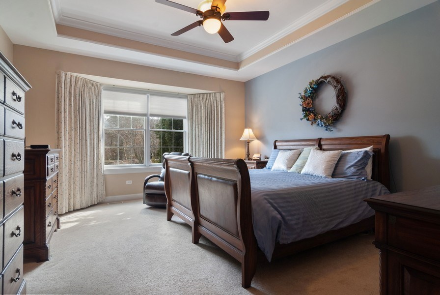 Real Estate Photography - 2707 Nicole Circle, Aurora, IL, 60502 - Master Bedroom