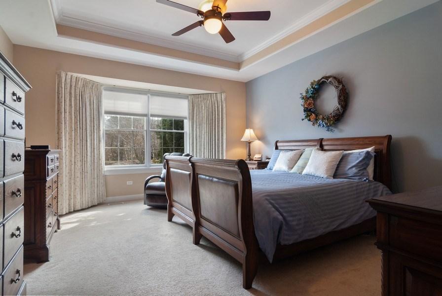 Real Estate Photography - 2707 Nicole Circle, Aurora, IL, 60502 - Master Bedroom