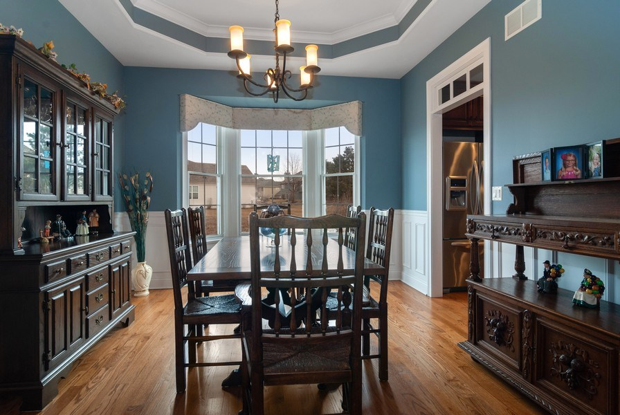Real Estate Photography - 2707 Nicole Circle, Aurora, IL, 60502 - Dining Room
