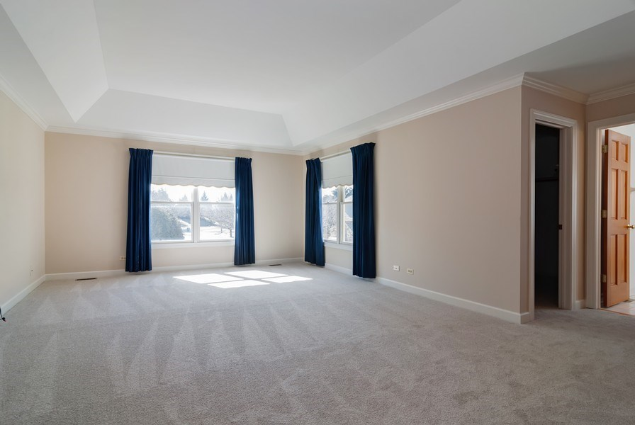 Real Estate Photography - 2565 Chasewood Court, Aurora, IL, 60502 - Master Bedroom