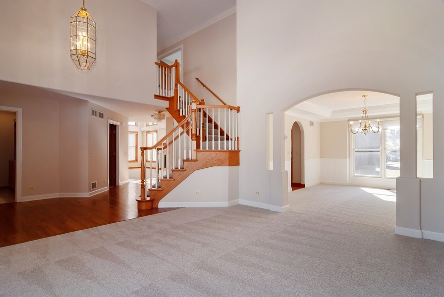 Real Estate Photography - 2565 Chasewood Court, Aurora, IL, 60502 - Living Room