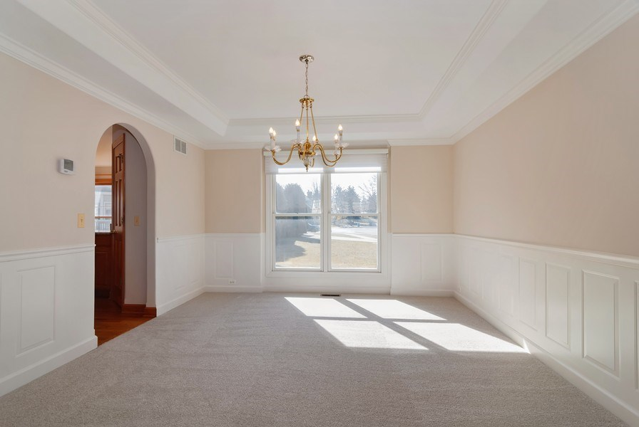 Real Estate Photography - 2565 Chasewood Court, Aurora, IL, 60502 - Dining Room