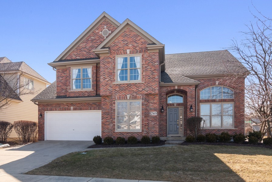 Real Estate Photography - 2565 Chasewood Court, Aurora, IL, 60502 - Front View
