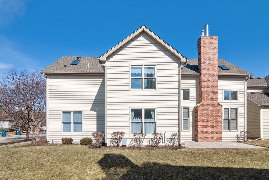 Real Estate Photography - 2565 Chasewood Court, Aurora, IL, 60502 - Rear View