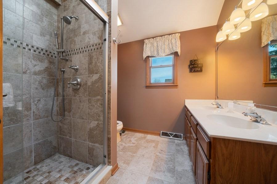 Real Estate Photography - 1161 Morton Street, Batavia, IL, 60510 - Master Bathroom