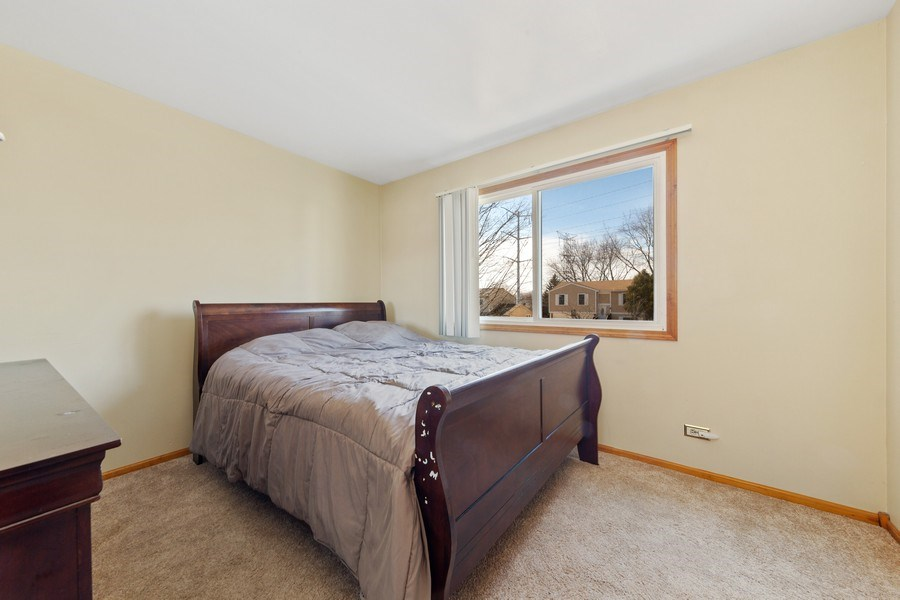Real Estate Photography - 212 Yellow Pine Drive, Bolingbrook, IL, 60440 - 3rd Bedroom