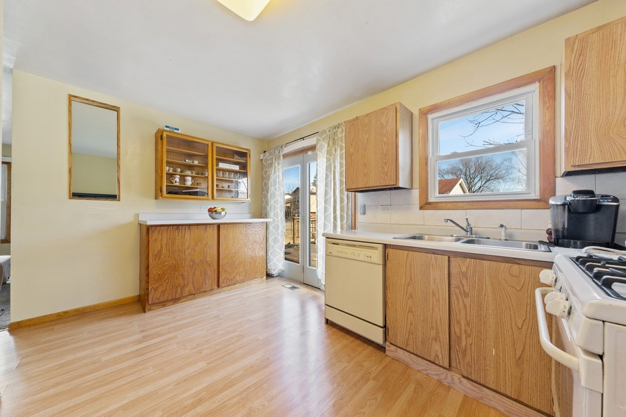 Real Estate Photography - 212 Yellow Pine Drive, Bolingbrook, IL, 60440 - Kitchen