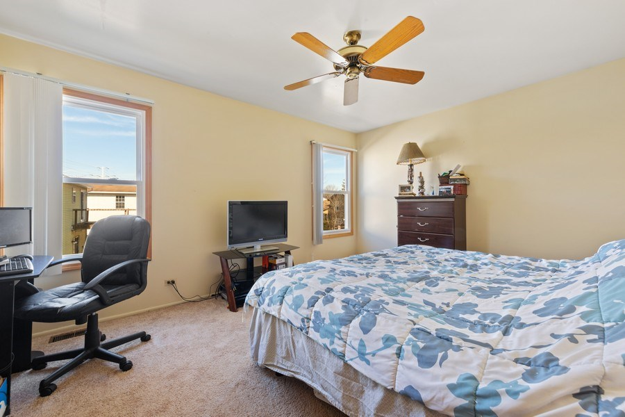 Real Estate Photography - 212 Yellow Pine Drive, Bolingbrook, IL, 60440 - Bedroom