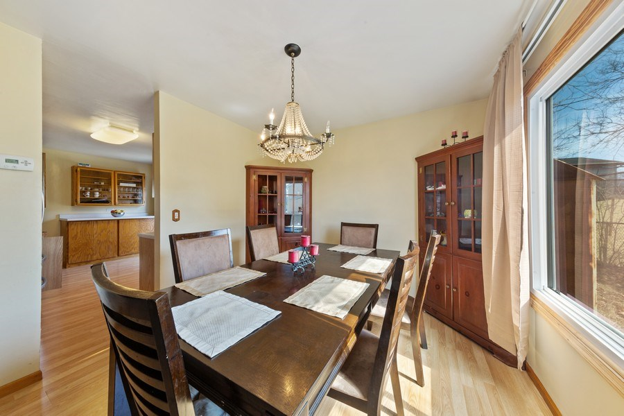 Real Estate Photography - 212 Yellow Pine Drive, Bolingbrook, IL, 60440 - Dining Room