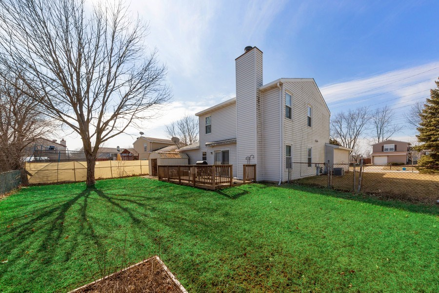 Real Estate Photography - 212 Yellow Pine Drive, Bolingbrook, IL, 60440 - Rear View
