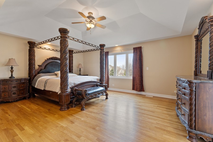 Real Estate Photography - 525 Wind Energy Pass, Batavia, IL, 60510 - Master Bedroom