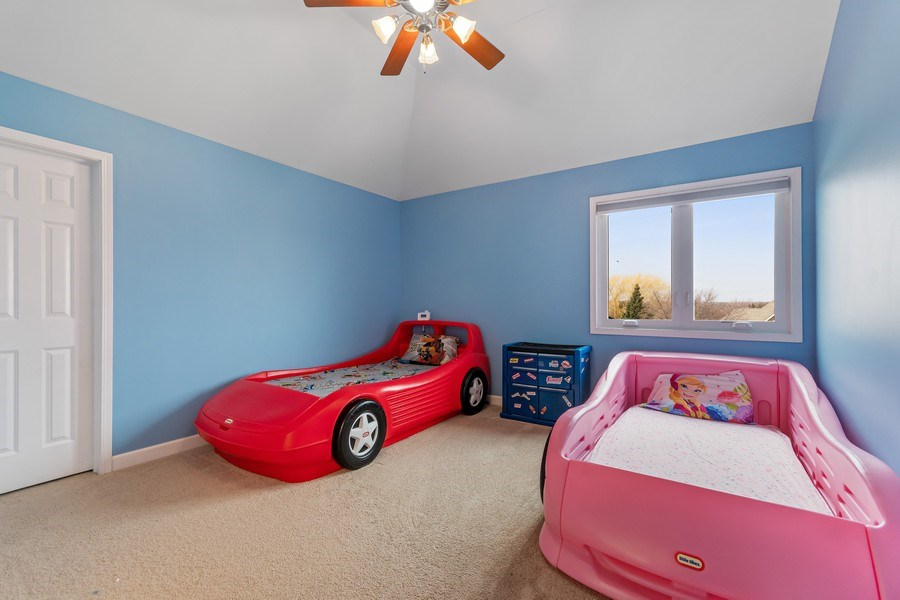 Real Estate Photography - 525 Wind Energy Pass, Batavia, IL, 60510 - 3rd Bedroom