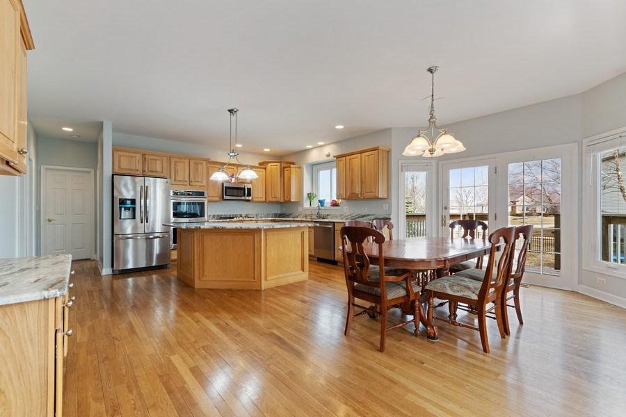 Real Estate Photography - 525 Wind Energy Pass, Batavia, IL, 60510 - Kitchen