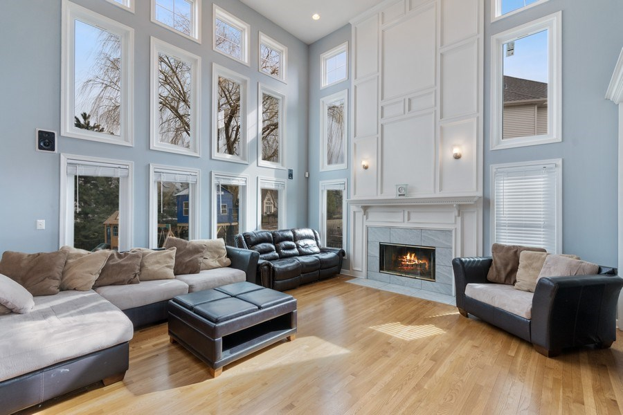Real Estate Photography - 525 Wind Energy Pass, Batavia, IL, 60510 - Family Room